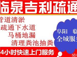 临泉县吉利疏通管道公司
