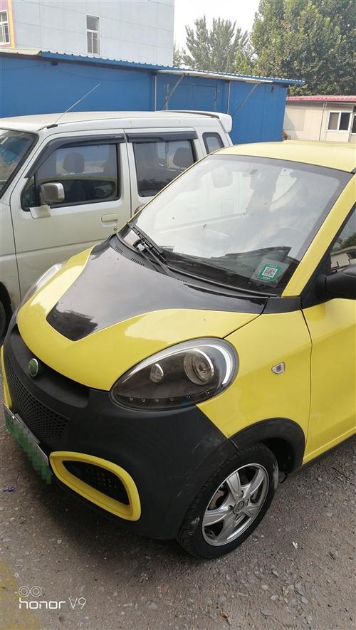 知豆D1电动汽车