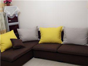 全新咖啡色北欧风ins风沙发低价左太妃位转让 找当地沙发厂定制的沙发,今天刚送到,结果尺寸不合适,全...