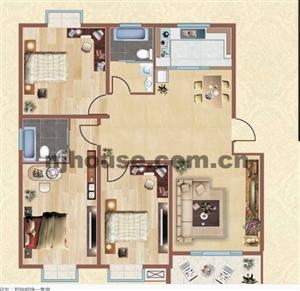水岸康城129平米5楼送阁楼3室2卫157万元