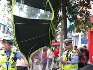 丨全警动员丨全力开展城区交通秩序大整治