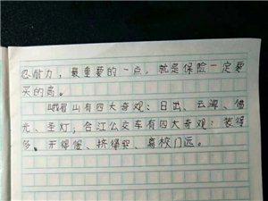 合江人民小学学生作文,小小年纪就开始关心民生问题了~