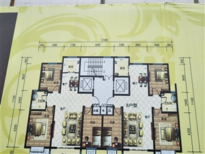 西花园3室 2厅 1卫52万元