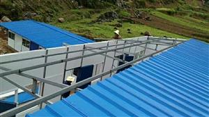 板房大小钢棚安装18084942068