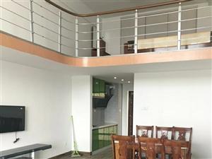 怡景华庭复式1室1厅面积大空间足首次出租