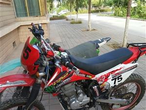 越野摩托车CQR250出售,也可置换好一点的越野,可以补差价!