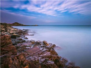 青海湖晨光(我的摄影)