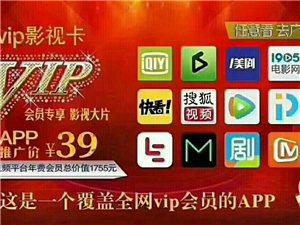 VIP影视卡12大平台一年随便看只需26元批发100张6元1张 微信Z194577552