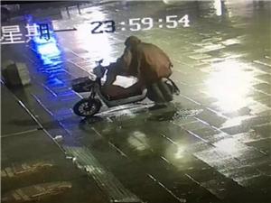遂平又现偷车贼,电动车防盗备案很重要!