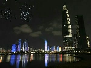 深圳40周年灯光展