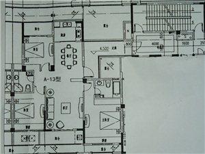 锦绣瑞府景观房最好的户型3室2厅2卫