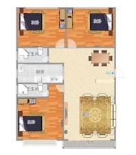 [安佳真房源]文苑星居3室 2厅 2卫55万元