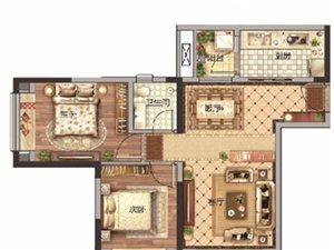 观澜湖毛坯房2室 2厅 1卫44万元