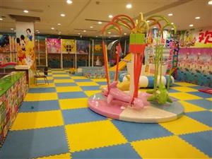 现转让中型儿童乐园设备一套,投币机十几台