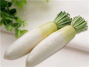 系列养生食补一蔬菜篇(白萝卜)