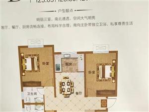 唐街御景城2室 2厅 1卫52.6万元