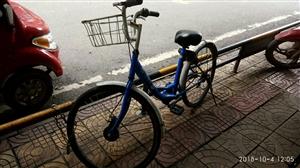 安岳共享单车被私自上锁