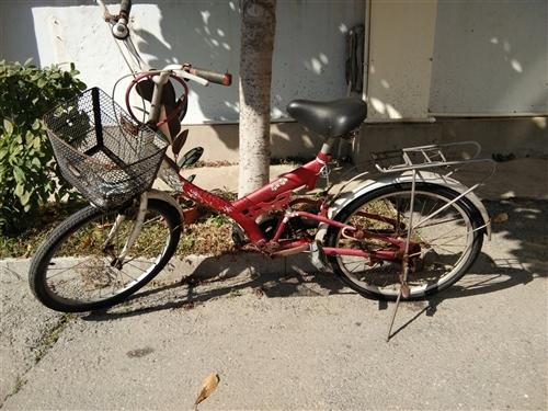 闲置二手自行车一辆,30元处理,非诚勿扰!