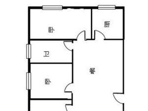 慧时欣园3室 2厅 1卫首付三成