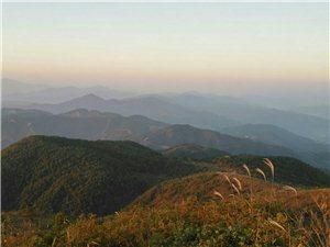 天坪山观日出晨起登天坪,穷尽山之颠。顶风立岩头,傲然天地间。坐看云初起,寂听日东升。