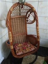 闲置藤编吊篮椅出售,全藤编,五百不议价,联系电话:15245803011