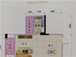 万基广场2室 1厅 1卫36万元