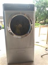 九成新海尔复试滚筒带烘干一体洗衣机、现低价转让给需要的朋友、用了两年多、已深度清洗干净、因主人回老家...