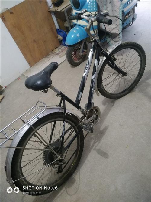 个人闲置的山地自行车便宜出售,闲置半年多了,有入成新买时配有后货架可以坐人、带物,有看上需要的朋友联...