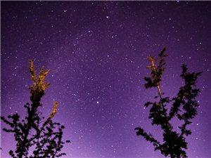 星空璀璨,银河迷醉