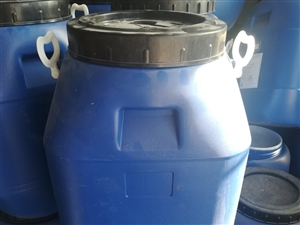 只用过一次,50公斤一桶,次新桶,里面干净,有内包装袋,有300个左右,量大优惠,电话微信13685...