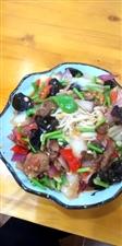 新疆过油肉拌面:味道杠杠滴