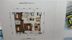 金辉优步花园精装套三双卫首付29万单价9000起