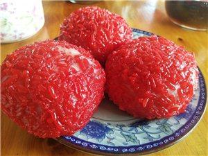 红粑粑,米豆腐,百吃不厌。