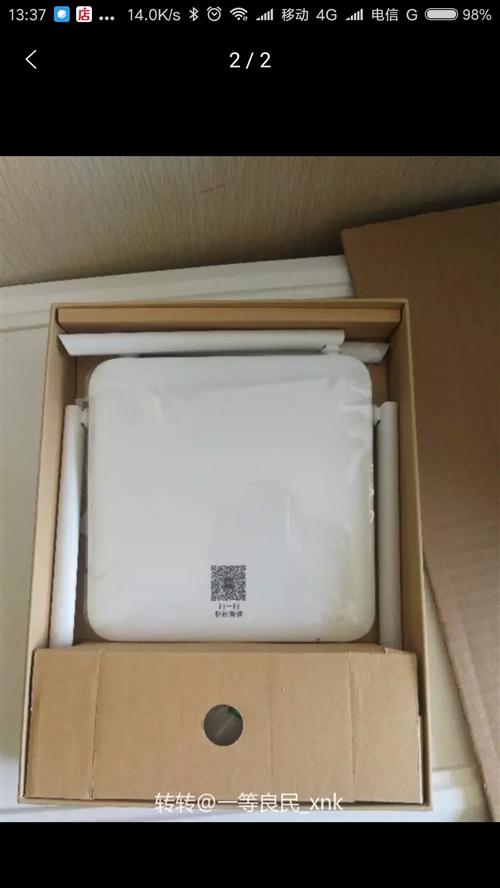 全新未使用的千兆网口高端路由器,双频网路。信号好,效果好。现在便宜转让100元。有需要的速联系!