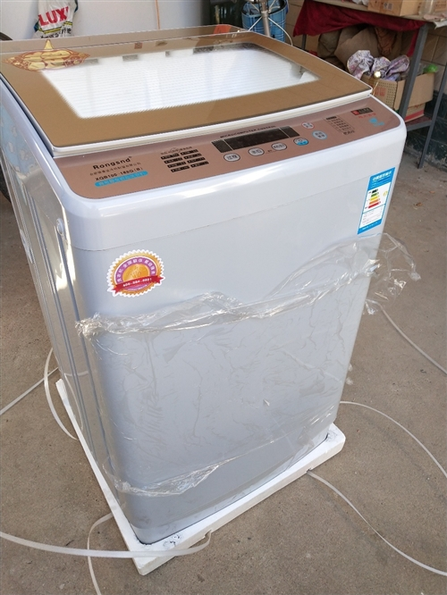 荣事达十公斤全自动洗衣机全新未拆封带包装箱的,全国联保整机三年。980元一台。13064457225