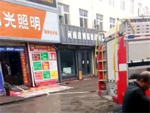 就在刚刚,澳博国际娱乐东建材发生一场火灾