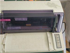 映美530k针式发票打印机,新旧看图片,打印非常清晰,不缺针。配送电源线usb线,到手直接就能用。保...