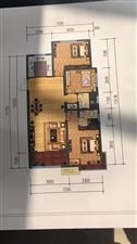 澳森家园3室2厅2卫65万元,首付5万包改名