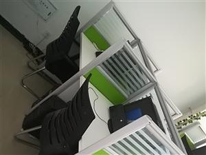 出售四人位办公桌,500元一套;办公椅60元一把;新买的没多久,生意不好,用不到了