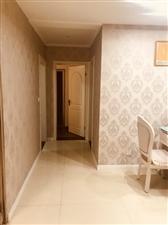 西城公馆精装三室双卫带家具家电送15平米