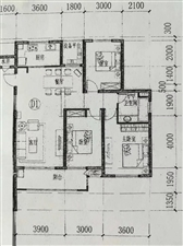爱民二期3室 1厅 1卫116.8万