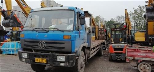 二手平板挖機拖車出售