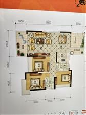 学府长鸿3室2厅2卫47.8万元