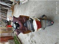 因外出现将闲置赤兔马踏板摩托车出售八成新 17771340956