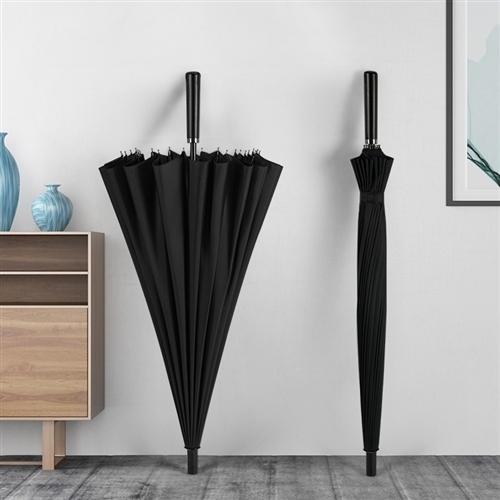 本公司處理一批全新高品質直桿防風商務傘。尺寸84*115.24傘骨,鋼結構,強度高,密度大,溢水性強...