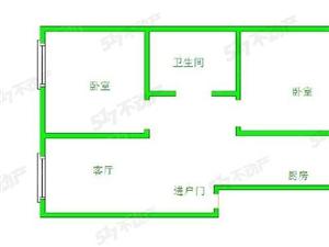 柏丽城2室1厅2000元/月