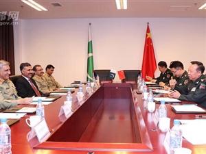 李作成会见巴基斯坦陆军参谋长