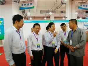伊真香粉条赴张掖参加国际大展,副市长霍卫平参观