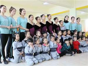 张家川可爱的舞蹈精灵像天使