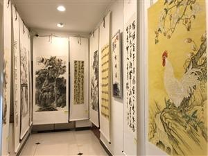 抢先看陕甘宁三省十一县书画名家墨宝巡展张家川